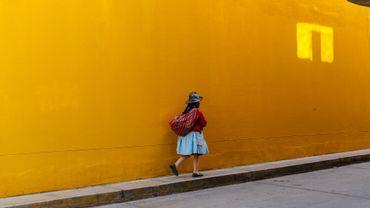 Huaraz, retour du marché sous un soleil généreux