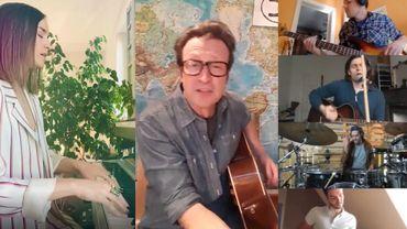 Les vidéos de nos artistes belges en confinement
