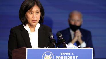 Katherine Tai, nommée par Joe Biden pour le poste de représentant américain au commerce (USTR)