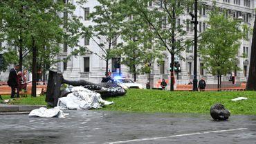 Canada: des manifestants antiracistes déboulonnent une statue à Montréal
