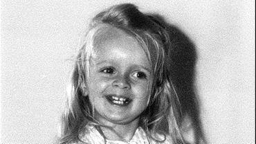 Sophie Davant à 3 ans