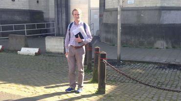 Gaëtan De Dordolot, médecin généraliste qui exerce en milieu carcéral à Saint-Gilles