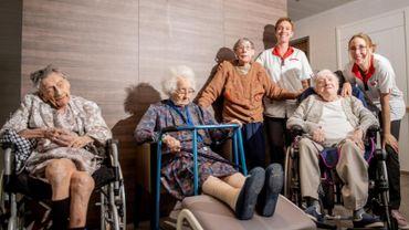 Quatre centenaires dans la même maison de repos