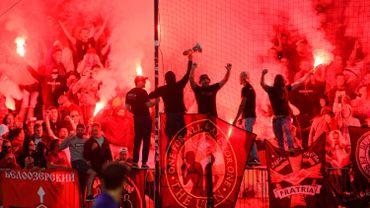 Les supporters du Spartak Moscou