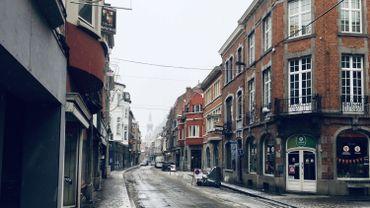 """La réfection de la rue Grande en plein centre sera """"rapide et transparente"""" selon la ville."""