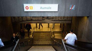 Entrée du métro
