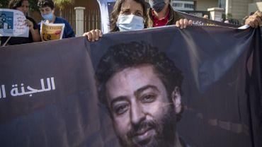 Omar Radi, en détention préventive depuis huit mois pour des accusations d'espionnage et de viol.