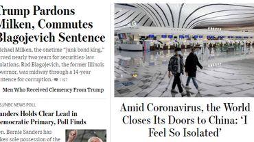 La Chine retire les cartes de presse de trois journalistes du Wall Street Journal après un titre controversé
