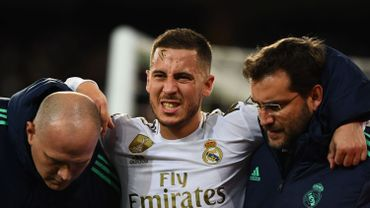 Eden Hazard, pas rétabli pour la Supercoupe d'Espagne, devrait revenir à la fin du mois de janvier