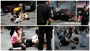 """Times Square: le suspect, drogué au PCP, souffre de """"problèmes psychologiques"""""""