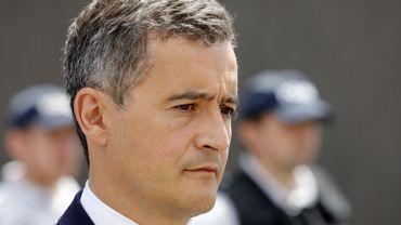 Le ministre de l'Intérieur français Gérald Darmanin est arrivé samedi en début d'après-midi à Bayonne.