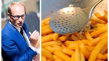 Ben Weyts défenseur du goût des frites belges?