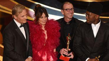 """""""Green Book"""", un road movie adapté d'une histoire vraie, a décroché dimanche l'Oscar très convoité du meilleur film."""