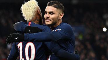 Icardi, ici avec Neymar, va bientôt définitivement déposer ses valises à Paris.
