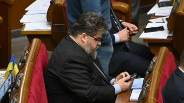 Bogdan Iaremenko au parlement à Kiev