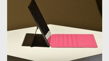 La nouvelle Surface de Microsoft, le 18 juin 2012 à Hollywood en Californie