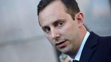 L'ancien ingénieur de Google Anthony Levandowski, accusé de vol de secret industriel, à San Francisco le 24 septembre 2019