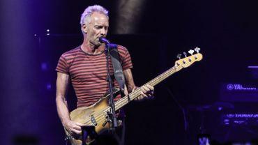 Sting de retour en Belgique le 8 juillet au Gent Jazz Festival
