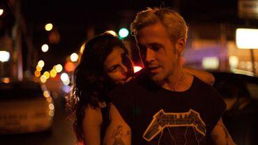 "Eva Mendes et Ryan Gosling dans""The Place beyond the Pines"""