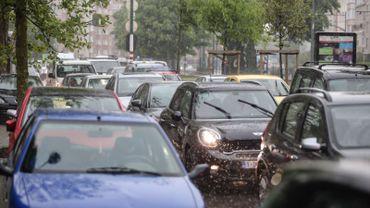 La Chambre de commerce bruxelloise (Beci) a calculé le coût des embouteillages à Bruxelles et l'a évalué à 511 millions d'euros par an