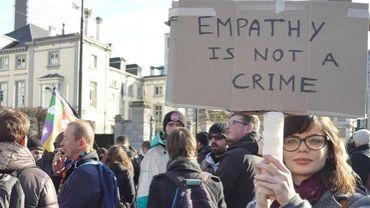 """""""Il n'y a pas de criminalité dans la solidarité"""""""