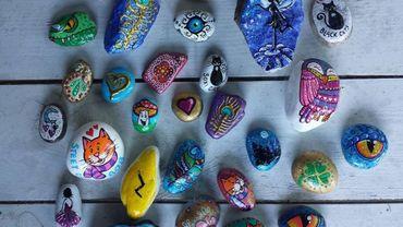 Les pierres colorées, la nouvelle activité familiale qui fait fureur!
