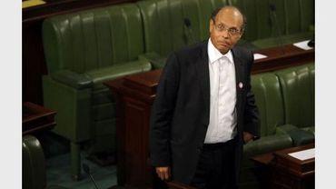 Moncef Marzouki le 12 décembre 2011 à l'Assemblée constituante de Tunisie, à Tunis