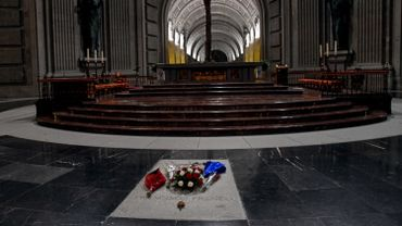 La tombe de Franco à San Lorenzo del Escorial