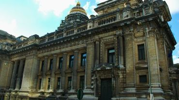 Le palais de justice de Bruxelles.