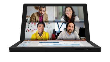 Le Lenovo ThinkPad X1 Fold sera le premier PC portable doté d'un écran pliable vendu dans le commerce.