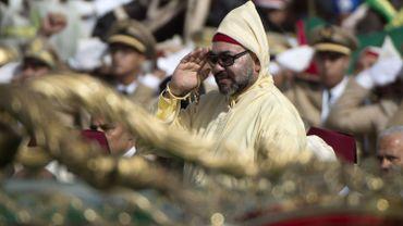 Mohammed VI, roi du Maroc, lors d'une cérémonie à Tetouan, le 31 juillet 2018.