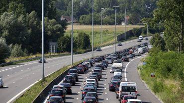 Accident sur l'E25 Liège-Bastogne: 1h de retard en direction de Bastogne