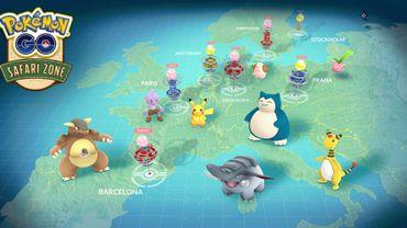 """Des événements """"Pokémon Go"""" Safari Zone à l'horizon en août et en septembre 2017"""