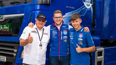 Barry Baltus pilotera en Moto3 la saison prochaine