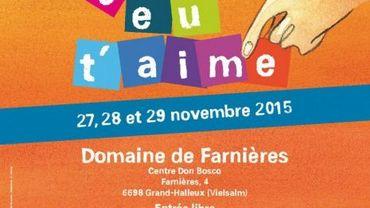 """Le centre Don Bosco de Farnière (Vielsalm) acceuillera les rencontres """"Jeu t'aime"""" le week-end prochain..."""