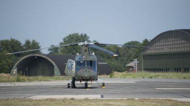 Un hélicoptère Agusta accidenté à Beauvechain, un blessé léger