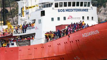 MSF est actif en mer Méditerranée, notamment via son bateau Aquarius