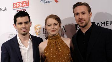 Damien Chazelle, Emma Stone et Ryan Gosling