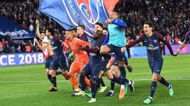 Le PSG champion de France