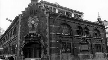 Les Halles Saint-Géry en 1984.
