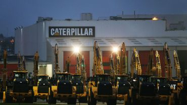 Site de Caterpillar, Gosselies