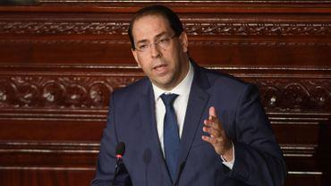 Le Premier ministre tunisien Youssef Chahed