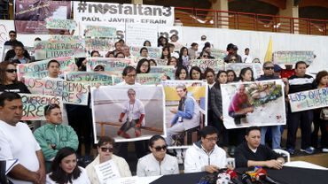 Première vidéo des journalistes équatoriens enlevés par des guérilleros colombiens