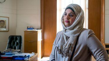 Saima Ashraf, 39 ans, à la mairie de Barking, Londres, où elle est l'un des leaders du gouvernement local. Selon elle, une telle réussite n'aurait pas été possible pour elle dans son pays d'origine, la France, en tant que femme voilée.