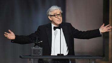 Woody Allen lors d'une remise de prix à Hollywood le 8 juin 2017