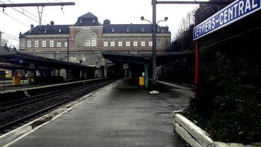 La gare de Verviers-Central évacuée après la découverte d'un colis suspect