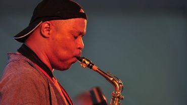 """Les saxophonistes américains Archie Shepp et Steve Coleman au festival """"Jazz Middelheim"""""""