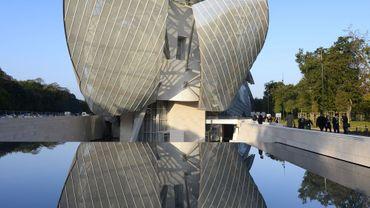 Le nouveau bâtiment de la Fondation Louis Vuitton