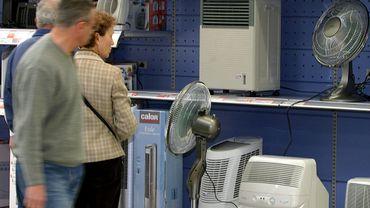 Les climatiseurs et les ventilateurs représentent déjà près de 20% de l'électricité totale.