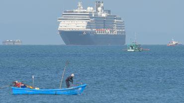 """Le """"Westerdam"""" va débarquer dans le port de Sihanoukville"""